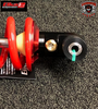 REBOUND DAMPING Controls the speed at which the shock absorber returns to its fully extended position after being compressed, keeping the wheels on the ground for maximum traction and reducing the recoil effect caused by the spring pressure pushing back after being compressed.  To use, turn the adjuster clockwise to slow down the rebound or turn counter-clockwise to speed up the rebound.  Stage 2 Elka Shock (Rear) Can Am Spyder F3-T / F3-LTD (ELKA-REAR-F3T) Lamonster Approved