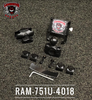 "Ryker Phone Holder Combo - LG Approved Holder (RAM-751U-4018) Lamonster Approved Fits: Can Am Ryker Stock Handlebars and any 7/8"" Handlebars."