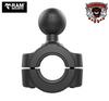 "RAM® 3/4"" - 1"" Diameter Handlebar/Rail Base with 1"" Ball (RAM-751U) Fits Can Am Ryker Handlebars Accommodates Handlebars 0.75"" to 1"" in diameter"