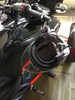 Can Am Spyder IPS Lidlox combo - blk pair (LG-1015-12-B) Shown with helmet