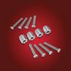 Show Chrome® Tour Rack Risers, RT (SC-52-837) Lamonster Approved