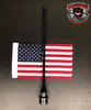 Flag Holder, Rack Mount, with USA Flag (LGA-2240)