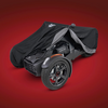 UltraGard® Classic Cover for Can-Am Ryker (SC-4-474BC) Black over Charcoal Cover On Can-Am Ryker (pulled back)
