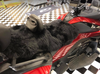 Sheepskin Seat Cover (Full Seat Cover) (MM-4400-BLK)  Shown on 2020 Can Am RT (BLACK)