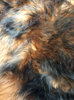 Sheepskin Seat Cover (Full Seat Cover) (MM-4400-CINN-BLK)  (CINNAMON with BLACK tips)