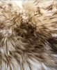 Sheepskin Seat Cover (Rider Seat Only) (MM-4401-HON-BN) (HONEY with BROWN tip)