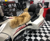 Misty Mountain Sheepskin Seat Cover (Rider Seat Only)(2010 - 2019 RT/RT-S/RT-LTD) (MM-4403-HON-BN) (HONEY with BROWN tips) Shown on a 2014 Can Am Spyder RT-LTD
