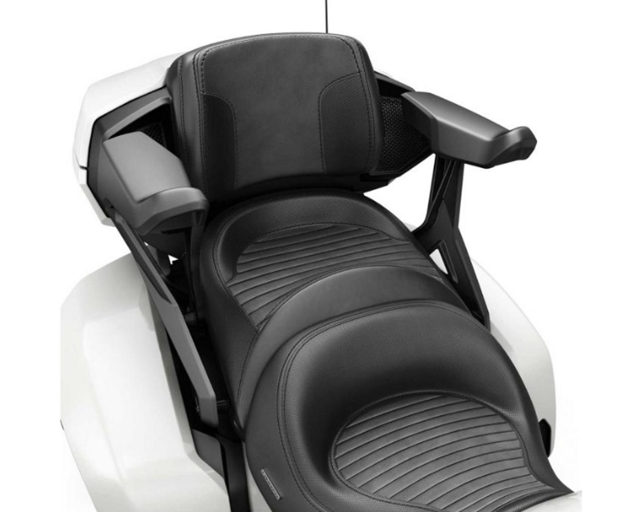 Passenger Armrests, Can Am Spyder F3 Models 2015+ (BRP-219400726) Lamonster Garage / lamonstergarage.com