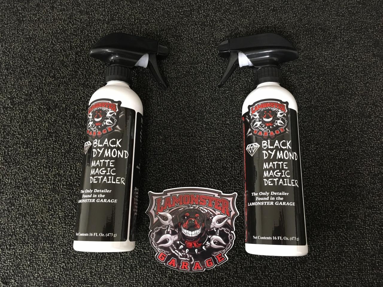 Lamonster Black Dymond Matte Magic Detailer (2 Bottle Price)