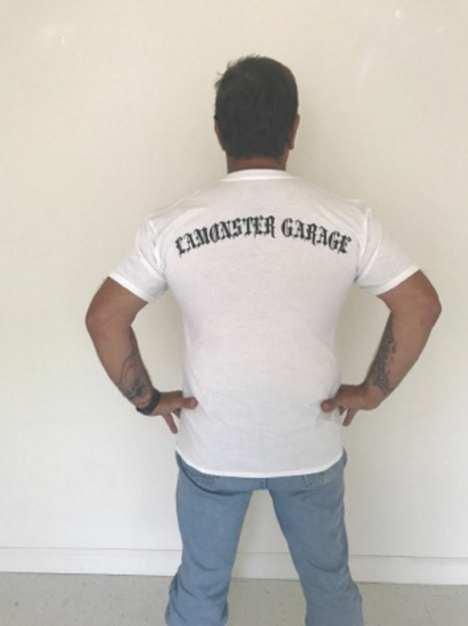 Lamonster Garage Shop Dawg T-Shirt (LG-7002-W)