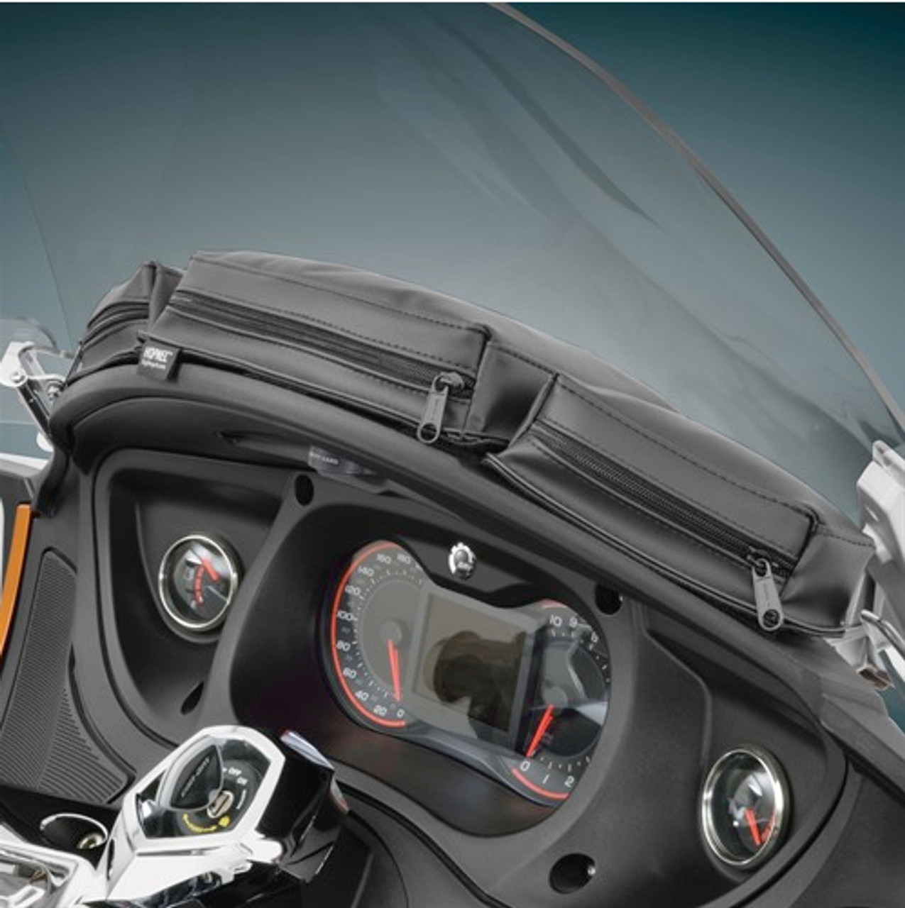 Hopnel, Can Am Spyder RT Dash Tri-Pouch (SC-H41-154BK) Lamonster Approved