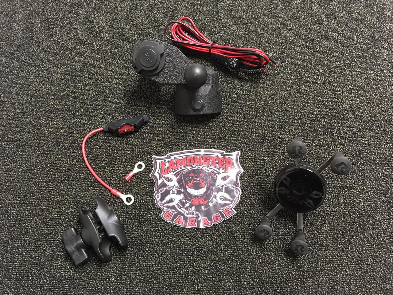 F3 Top Cap - Power Plate - X-grip Combo SM6