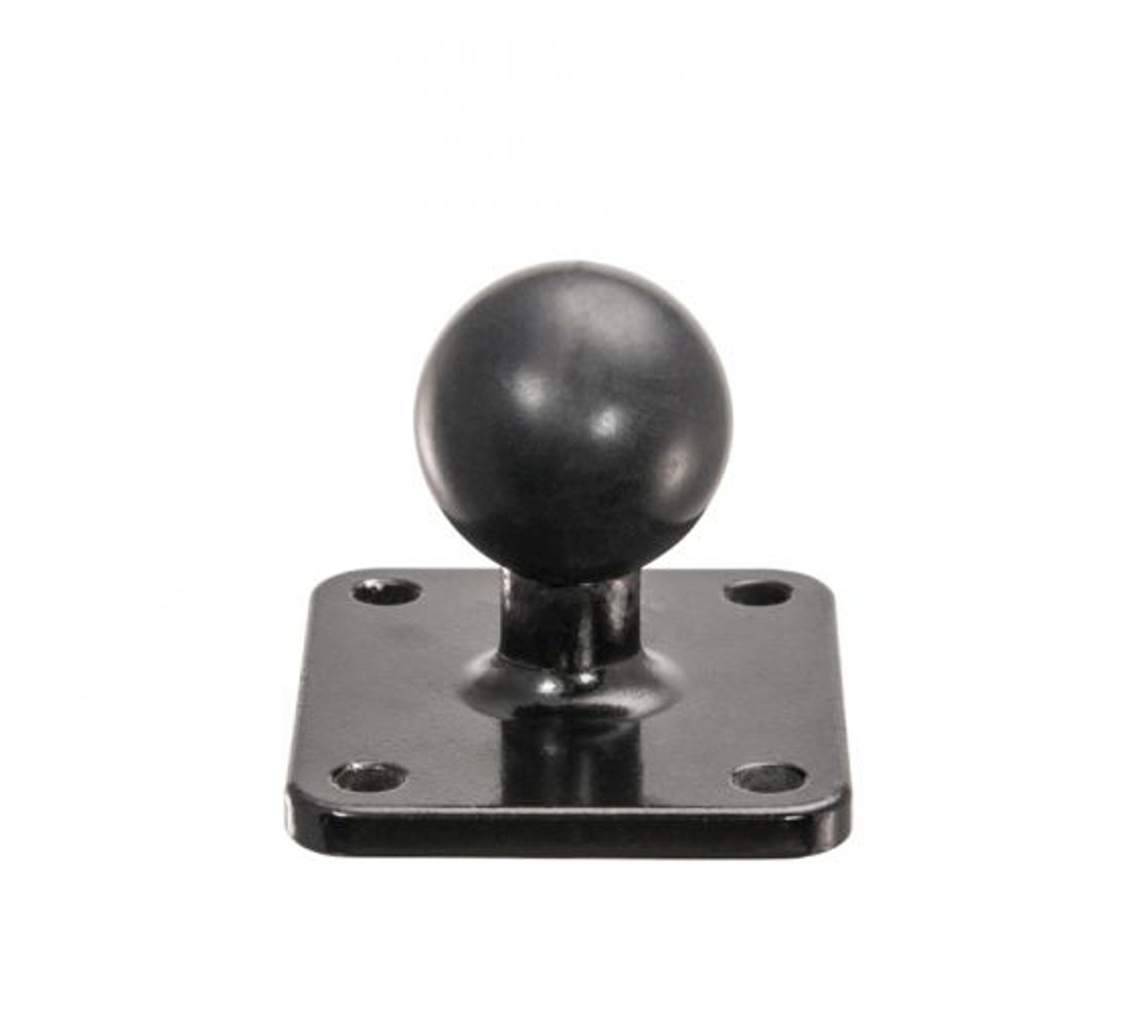 Metal 4-Hole AMPS to 25mm (1 inch) Rubber Ball Adapter - Aluminum Version