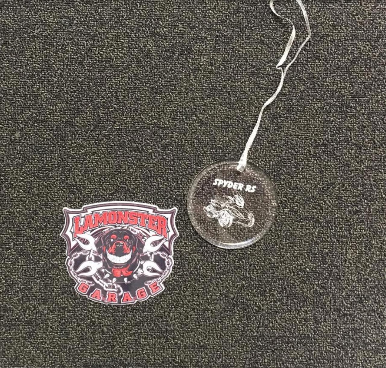 Spyder RS Ornament