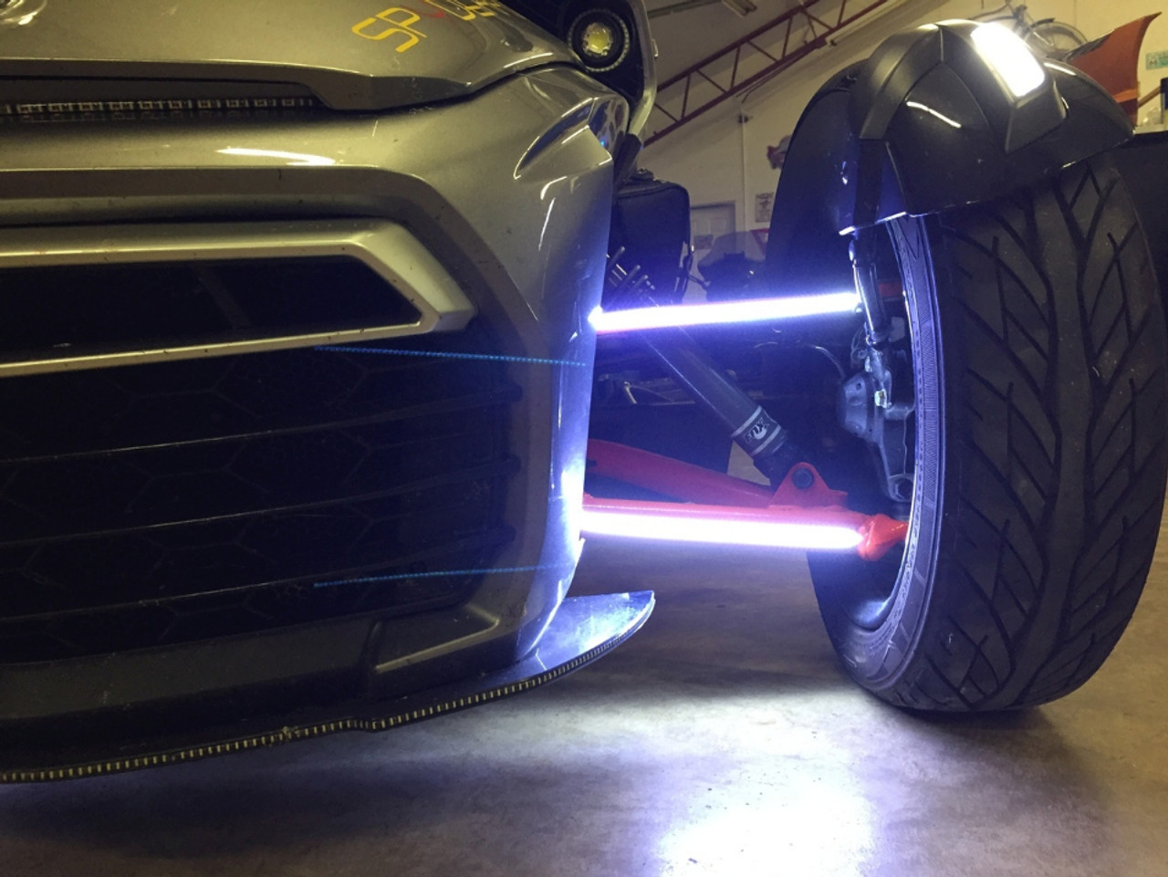 Can-Am Spyder Double Vision Daytime Running Lights (For all 4 A-Arms)