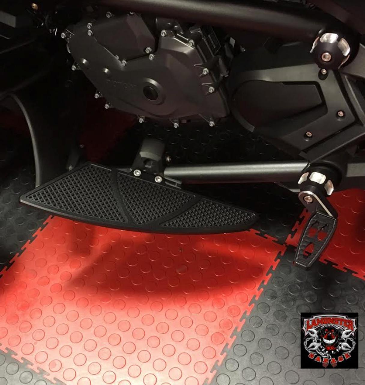 F3 Black Dymond Gripper Floorboards (OEM Floorboard Mount Only)