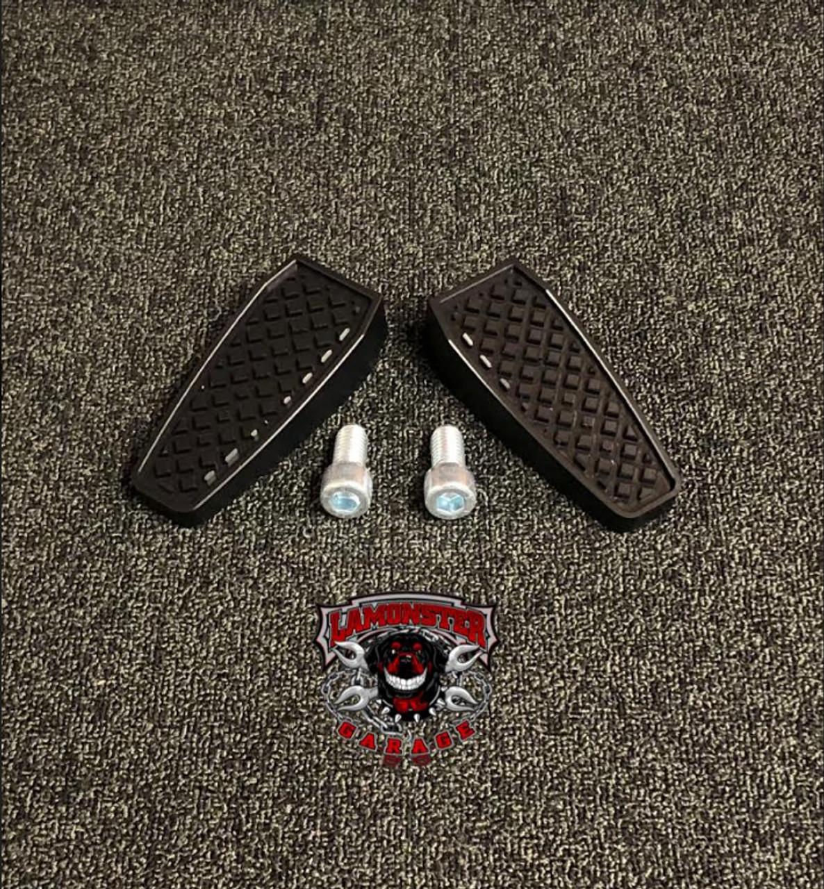 Black Dymond Gripper Pegs (All Black) (LG-1029B) by Lamonster