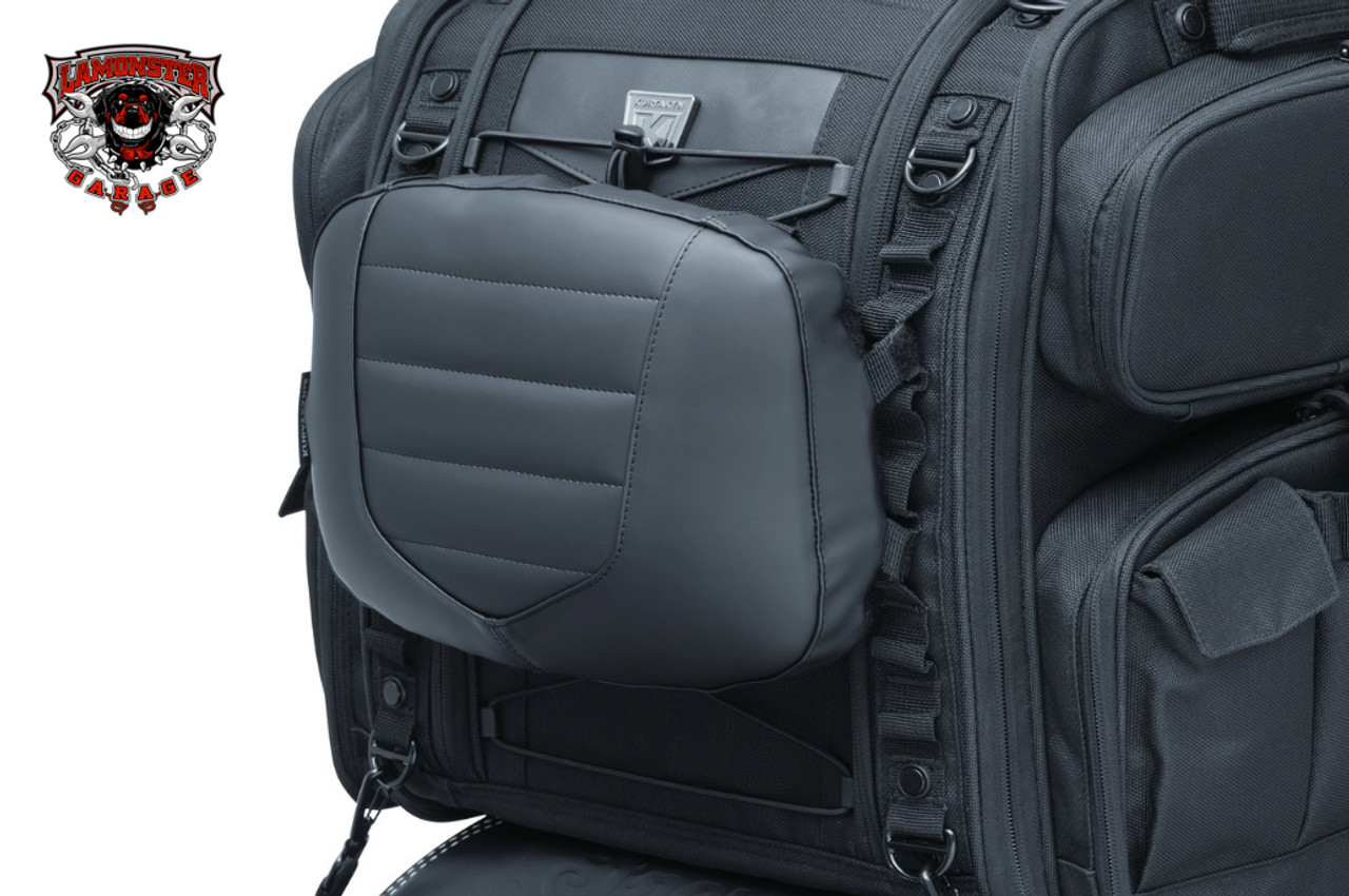 Kuryakyn Luggage Removable Backrest Pad (KYN-5299) Lamonster Approved (Bag Sold Separately)
