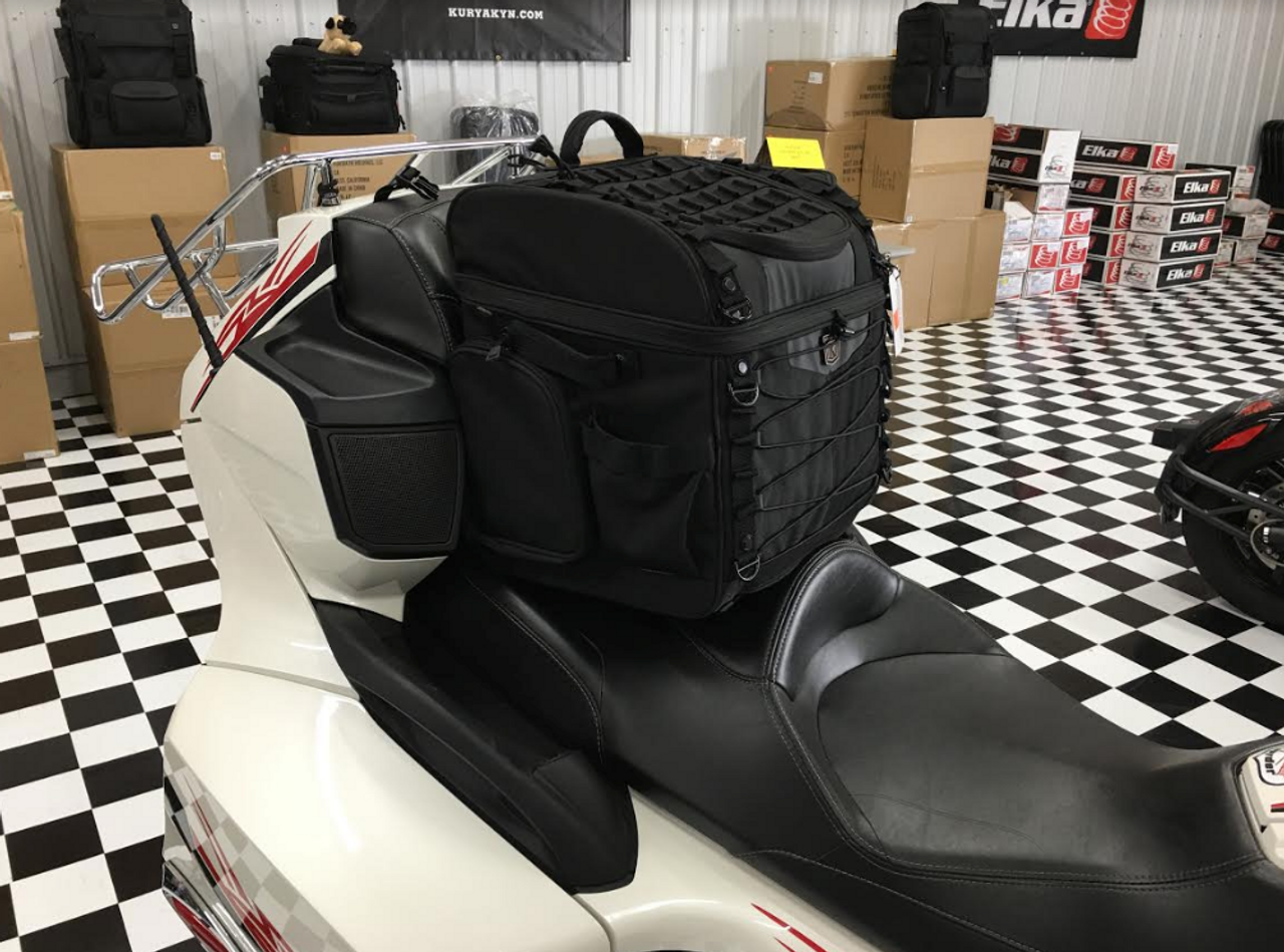 Kuryakyn Momentum Road Warrior Bag (KYN-5284) Lamonster Approved Shown on a Can Am Spyder RT