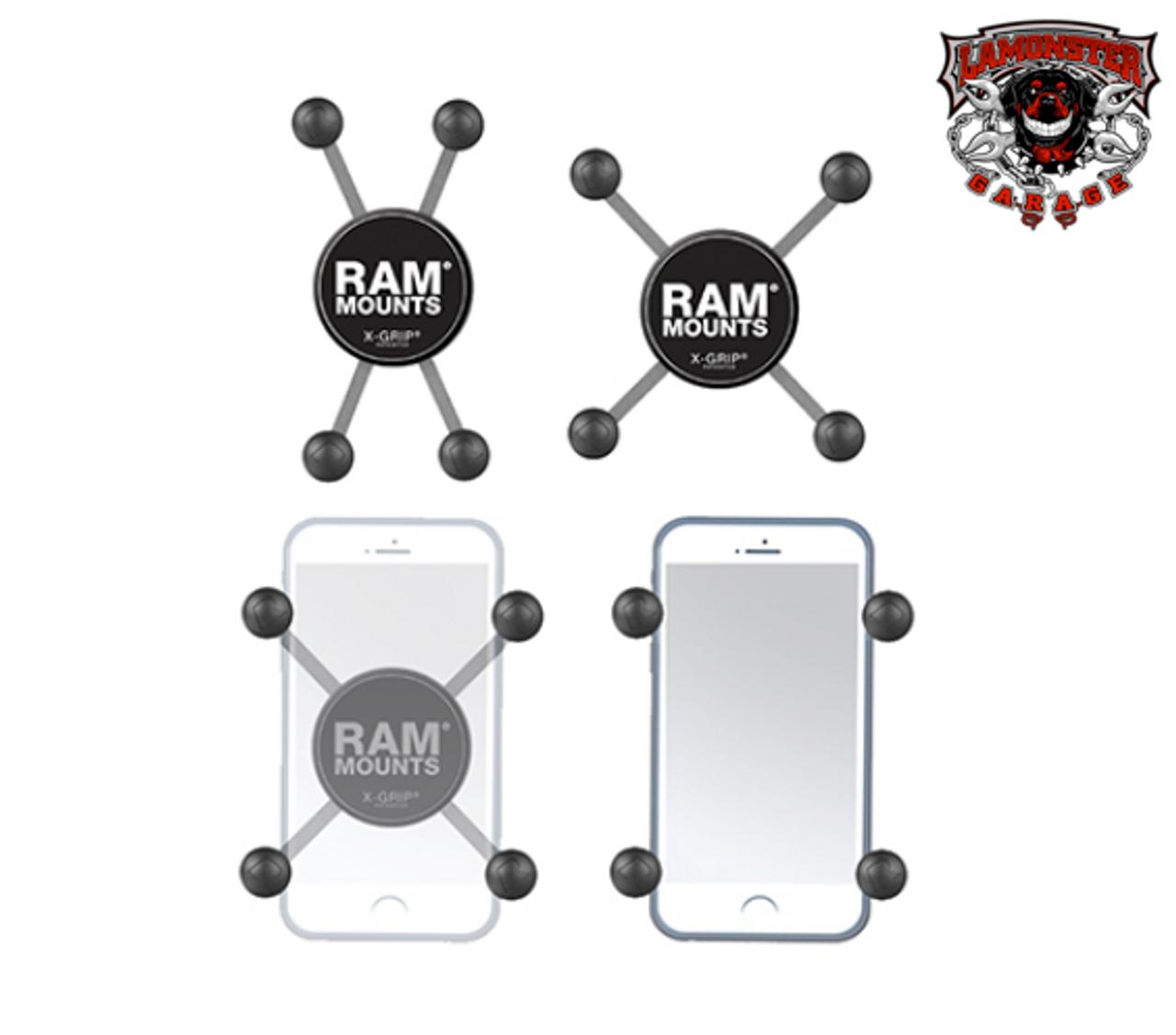 RAM® X-Grip®  Phone Holder with Ball (RAM-UN7B)