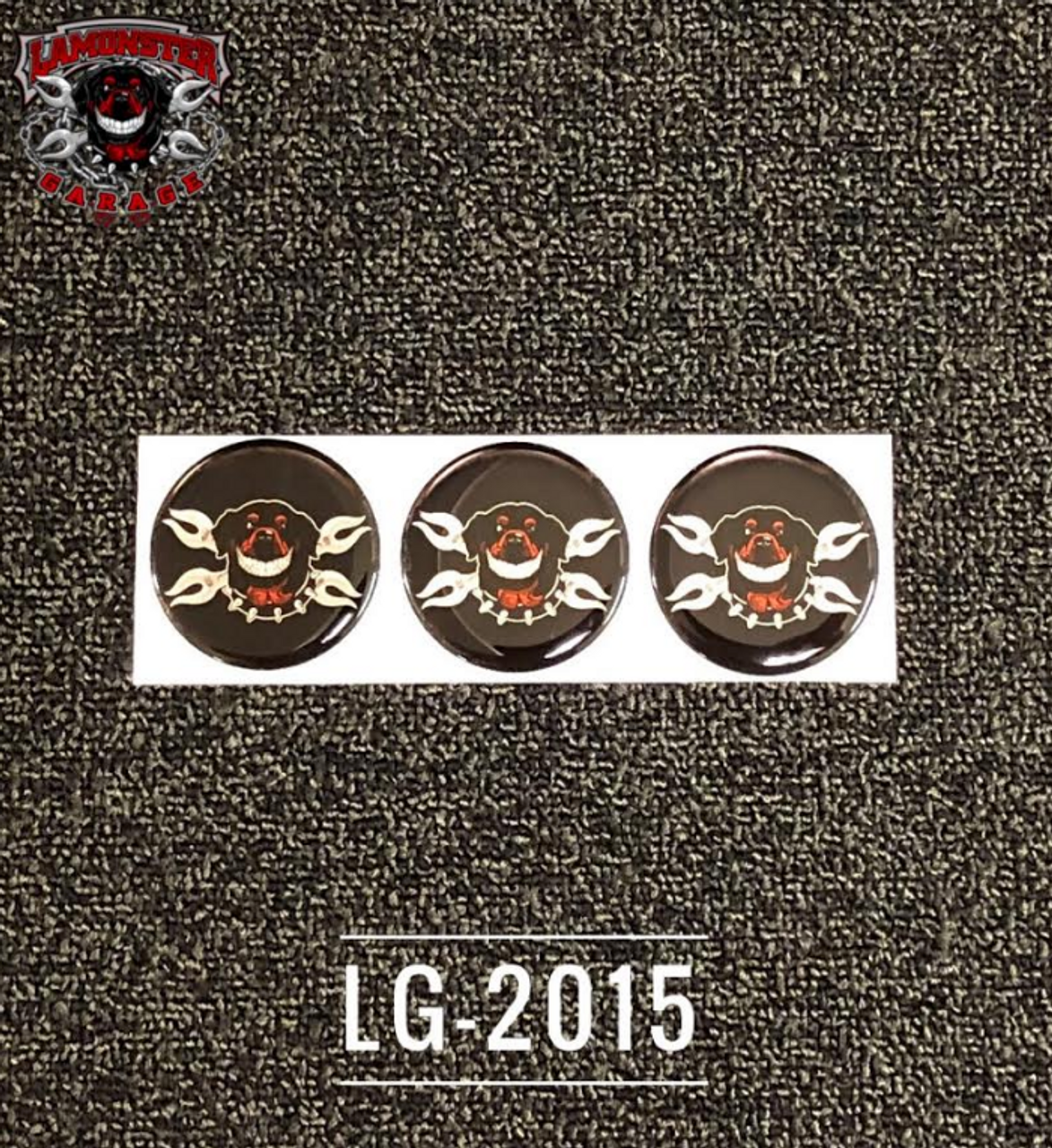 Lamonster Logo Decal for Can Am Ryker (3pc) (LG-2015)