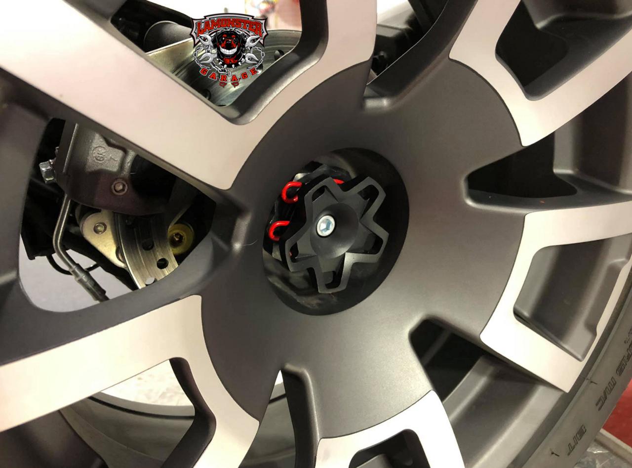 Lamonster Nutz Ryker Wheel Caps 3pc Set (LG-1066)