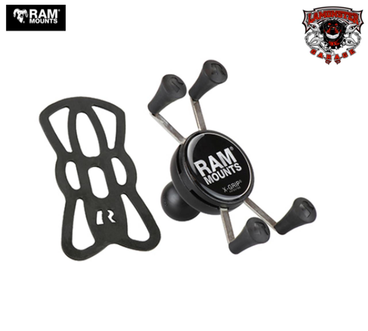 "RAM® X-Grip® Universal Phone Holder with 1"" Ball (RAM-UN7B) Lamonster Approved"