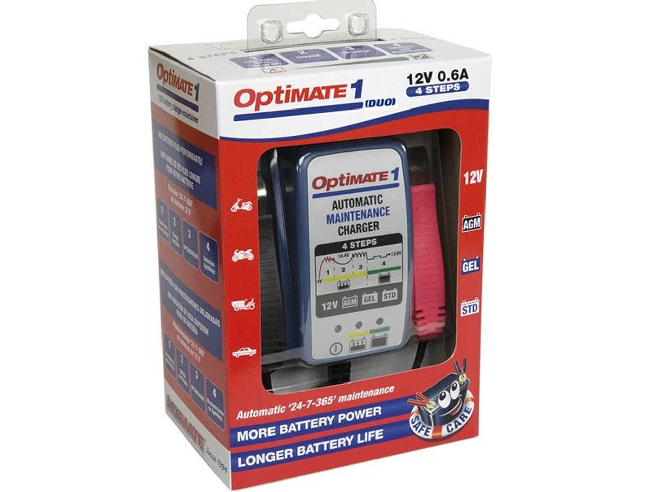 Optimate 1 DUO, battery Maintainer / Trickle Charger (LGA-3807-0431)