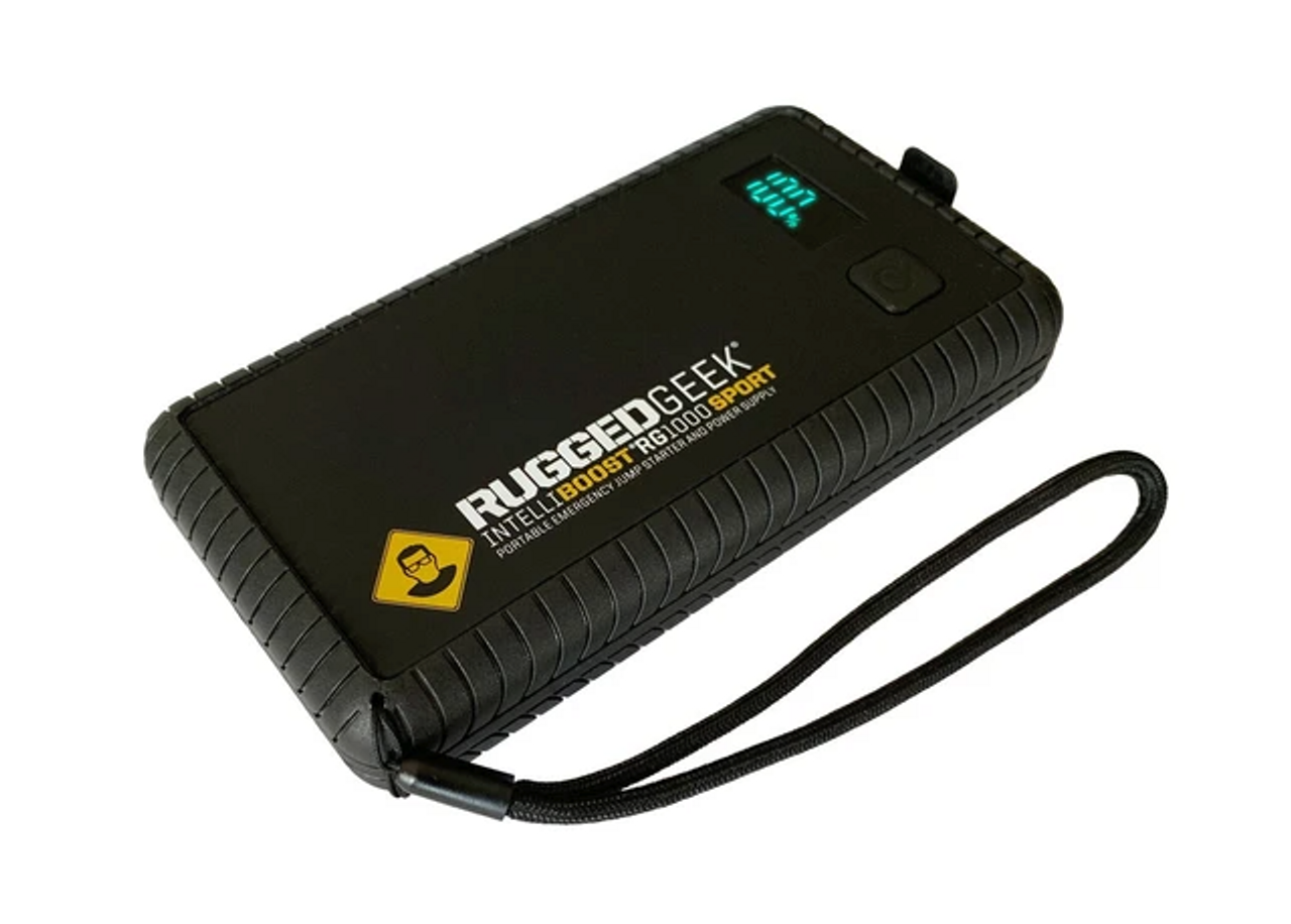 RG1000 SPORT 1000A Portable 12V Jump Starter/Booster Pack and Power Supply (RG-1000-SPORT)