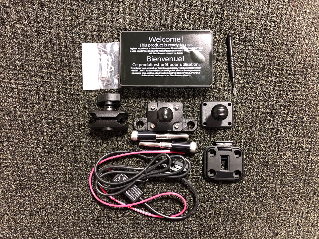 zūmo® XT Motorcycle GPS with Spyder Ball Mount