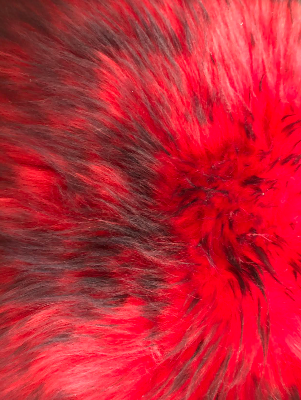 Sheepskin Seat Cover (Full Seat Cover) (2015 - Present F3/F3-S/F3-T/F3-LTD) (MM-4404-R-BLK) (RED with BLACK tips)