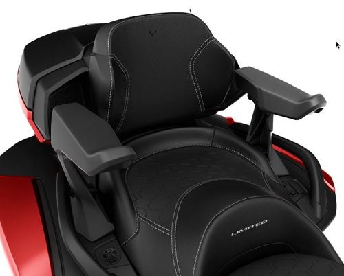 Passenger Armrests, Can Am Spyder 2020+ (BRP-219400958) BRP Can Am On-Road