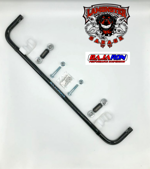 Can-Am Spyder ST/RS Sway Bar (2013-16)(BajaRon)(LGA-4011-SILVER) Lamonster Approved