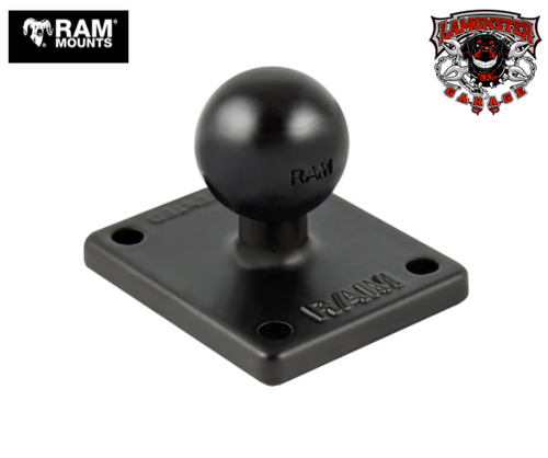 "RAM® 2"" x 1.7"" Base with 1"" Ball (RAM-347U) Lamonster Approved"