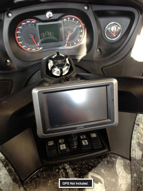 Can-Am Spyder, SpyderDock with Ram GPS Mount (with 12v CIG/USB ) (LG-1084-347U) by Lamonster GPS NOT INCLUDED.