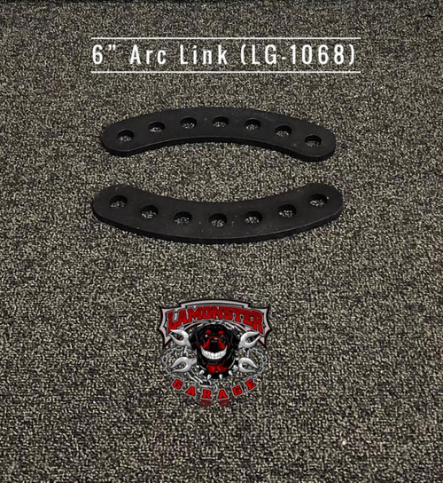 "6"" Arc Links (LG-1068) by Lamonster Will work with all Lamonster Hwy Brackets."