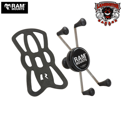 "RAM®  Universal X-Grip® Large Phone/Phablet Cradle with 1"" Ball (RAM-UN10B) Lamonster Approved"