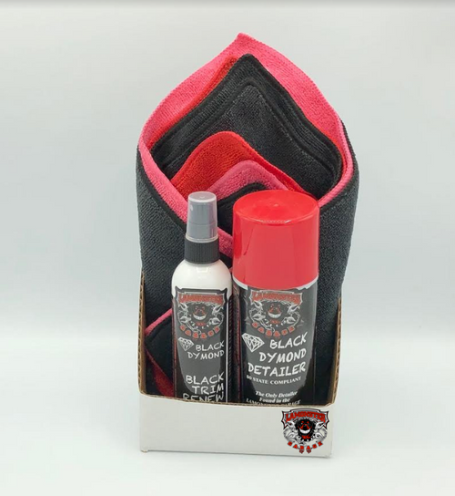Lamonster Black Dymond Detailer Gift Pack (Aerosol) (LG-5006)