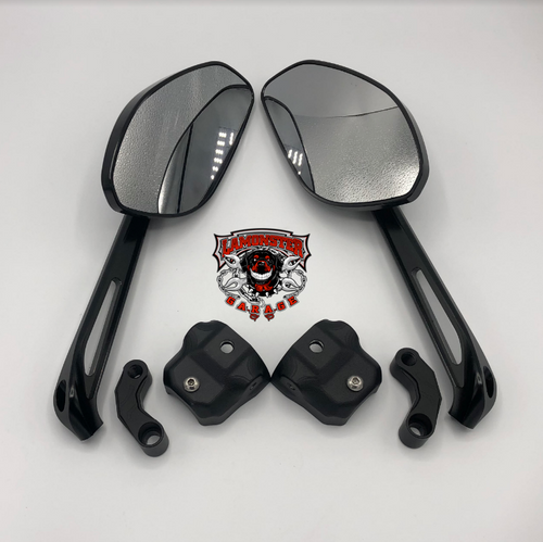 Can-Am Spyder Top Cuff and Big Eye Mirror Combo SE6 (LG-1037X2-5525) by Lamonster These Top Cuffs will fit all SE6 F3 models and 2020 RT models.  F3, F3-S, F3-T, F3-LTD, RT, RT-S, RT-LTD.