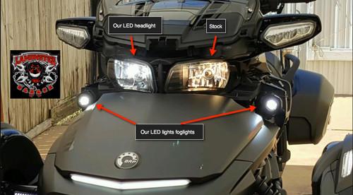 H4 LED Headlight for Spyder F3/ST