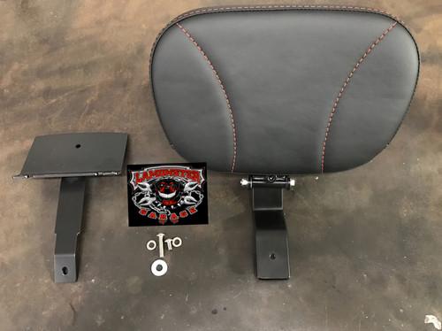 Lamonster Ultimate F3 Passenger Backrest (Red Stitching) (LGA-4200-01)
