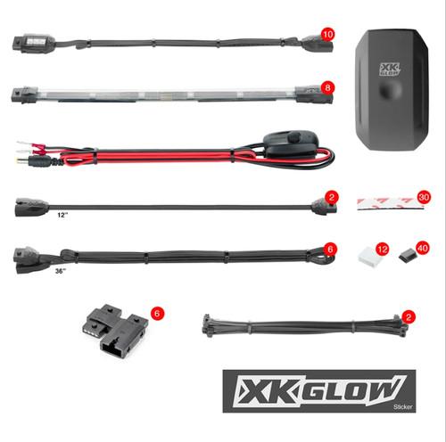 XK Glow LED Kit (10 pod 8 strip)