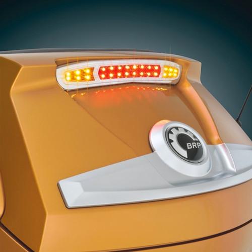 Show Chrome LED Trunk Brake/Turn Signal (with Lamonster plug & play kit)