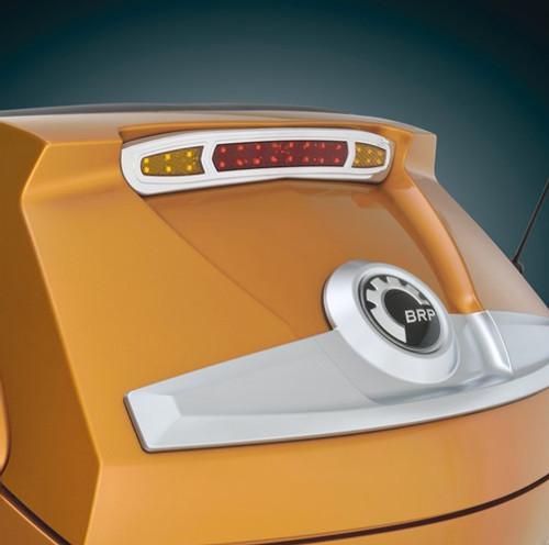 Show Chrome® Trunk Mounted Run, Brake & Turn Signal LED Light Kit for the Can-Am Spyder RT (2010-19)(Optional Lamonster plug & play kit)
