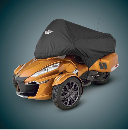 Ultragard Can Am Spyder RT Black Half Cover (SC-4-457BK) Lamonster Approved