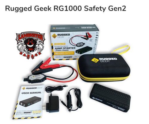 Rugged Geek TM RG1000 Safety Gen2 (RG-1000) Lamonster Approved