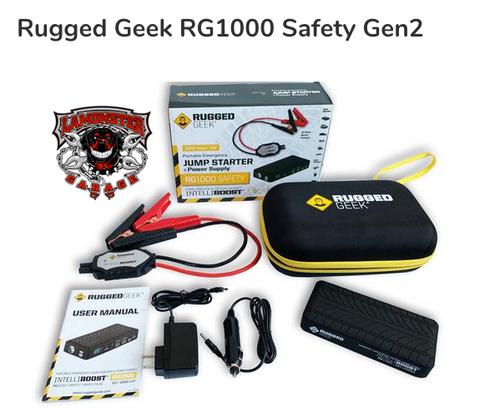 Rugged Geek TM RG1000 Safety Gen2 (RG-1000) Lamonster Approved