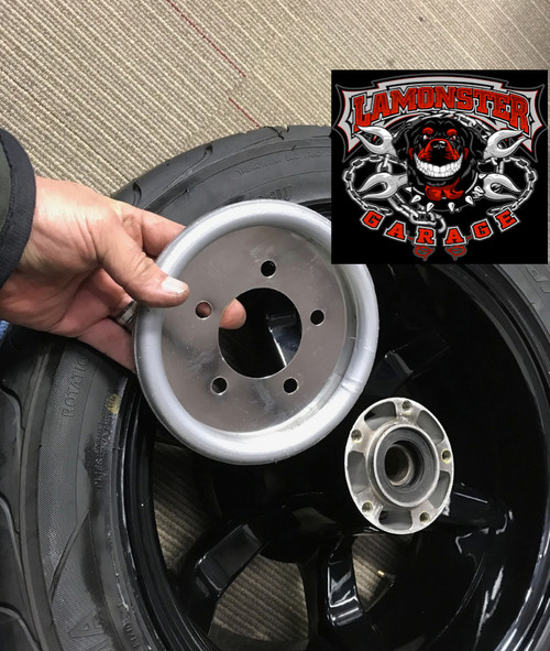 Lamonster Approved Wheel Balancers- Rear Only