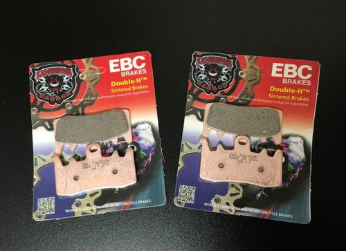 High Performance EBC Fully Sintered Front Brake Pads (All Spyder 2013-Present) (LGA-FA630HH) Lamonster Approved