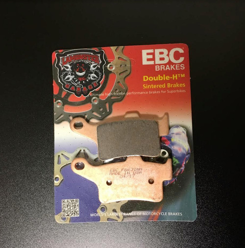 High Performance EBC Fully Sintered Rear Brake Pads (All Spyder 2013-Present) Lamonster Approved